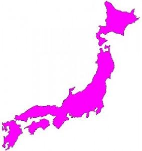 Japanmapapink